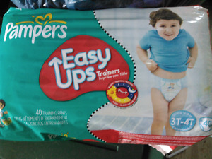Pampers easy ups 3T - 4T
