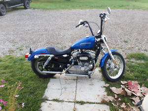 2007 sportster 883low for sale or trade for 100 or 125 two stoke
