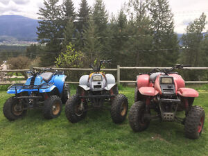 Reduced- need gone- 4 Polaris trail boss atv's - $1800 takes all