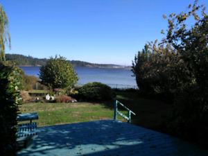 Waterfront Colwood house