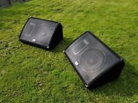 Laney CXM 112 stage monitors - pair of monitor wedges
