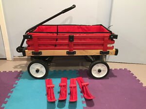 Millside Convertibile Wagon/Sled