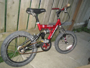"Used Shwinn 1.6 DS Dual Suspension 16"" Kids' Bike, good working"