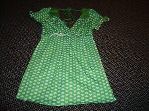 Ladies Size S/P Short Sleeve A-Line Baby Doll Style T-Shirt