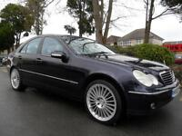 MERCEDES BENZ C220 2.1TDAUTO 2002 CDI COMPLETE WITH M.O.T HPI CLEAR INC WARRANTY