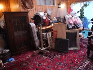 HUGE COLLECTION ANTIQUES, FURNITURE, CHINA, PAINTINGS, KNICK NAC