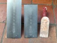 MARSHALLTOWN PLASTERING TROWELS x3