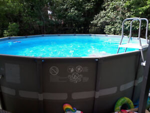 """INTEX POOL - 20' x 48"""" with SAND Filter and Pump includes Ladder"""