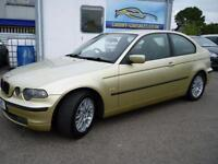 2001 51 BMW 3 SERIES 1.8 316TI SE 3D 114 BHP! SERVICE HISTORY! EX-CONDITION MOT