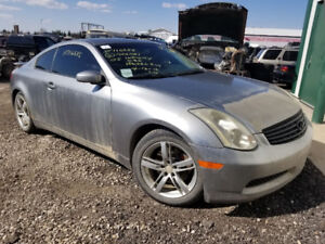 G35 FOR PARTS