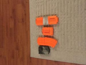 5 nerf gun clips