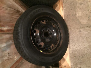 225/65/R16 Goodyear Nordic Winter rims and tires. St. John's Newfoundland image 3