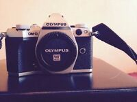 Olympus OM-D E-M5 Mark ii 2 digital camera body with original box and content video photo omd em5