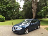 2007 Saab 9-3 1.8 Turbo SportWagon Auto Vector 5 Door Estate Blue