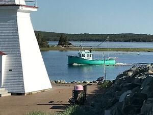 """34' 11"""" cape boat"""