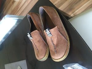 never used, unqiue slip ons, summer fashion, mens shoes