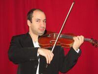 Cours de violon et piano