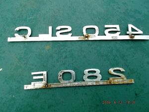 Mercedes Benz  Trunk  plates for sale Kingston Kingston Area image 2