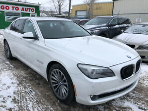 2011 BMW 7-Series 750i xDrive Sedan - Nav, camera, leather, roof