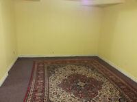 1 Bedroom Basement Apartment for Student or small Family