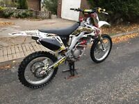 HONDA CRF 250 2008 immaculate condition first to see will buy