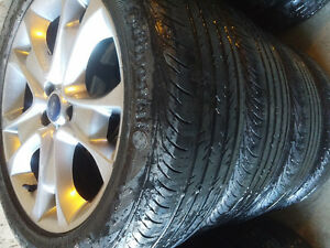 Ford Jaguar Landrover Dodge Mags and Tire 235-50-R18, 5X108
