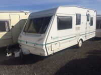 5 BERTH ABBEY WITH END BEDROOM AND BUNKBED FULL AWNING EXELLENT CONDISHION WE CAN DELIVER