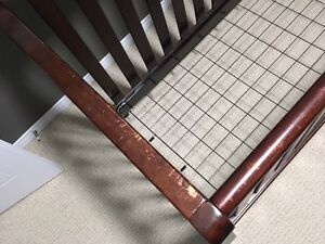 Solid wood convertible crib Cambridge Kitchener Area image 2