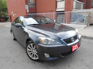 2007 LEXUS IS250 AWD , LEATHER , (4) LIKE NEW MICHELIN TIRES !!!