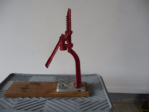 antique bottle capper