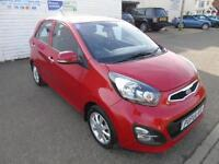 2014 14 KIA PICANTO 2 1.2 AUTOMATIC 5 DOOR
