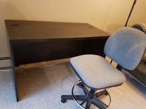 IKEA desk with office chair