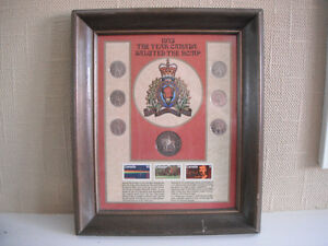 1973 Salute to the RCMP Coin Collection