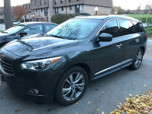 2013 infiniti JX35 entertainment package