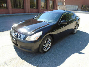 Infiniti G35x Sedan - LEATHER, AWD, SUNROOF, ALLOYS