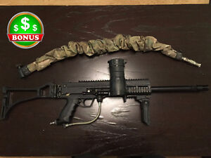 Paintball Tippmann A5 custom & automatique piston system+BONUS