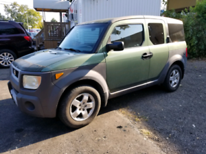 2003 HONDA ELEMENT 4 CYLINDER $5588.88 CERTIFIED