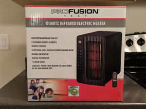1500W 5200BTU Quartz Infrared Electric Heater