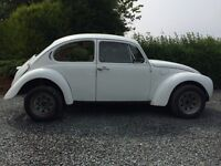 Original 1972 VW Beetle 1302s Rolling Chassis / Classic / Retro / Project
