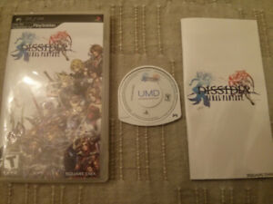 Sony PSP video game Final Fantasy Dissidia $10