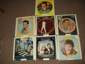 RCA SELECTRA VISION ELVIS PRESLEY  VIDEO DISQUE MOVIE