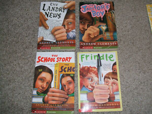 Box of 18 children's books-Sachar, Spinelli, Strasser, Clements London Ontario image 1
