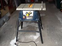 """Ryobi 10"""" Table Saw with Stand $85 Must Go ASAP!"""