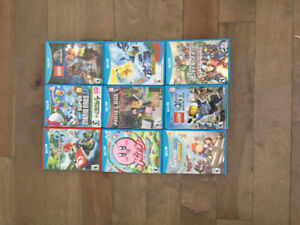Wii U - 9 game awesome bundle!