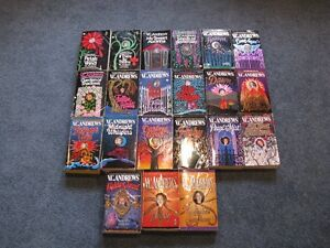 V.C. Andrews books $1 each or $20 for the lot