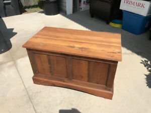 Stained Pine Hope chest