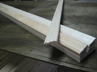 Solid Pine Door casing/trim 2 3/4 X 10' lengths
