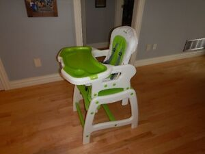 HIGH CHAIR / TABLE AND CHAIR
