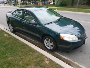 2006 Pontiac G6 for sale! **LOW KM**