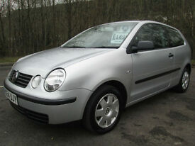 04/54 VOLKSWAGEN POLO 1.9 SDI TWIST 3DR HATCH IN MET SILVER WITH SERVICE HISTORY